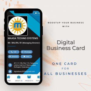 Digital Business Cards | Digital balu