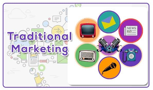 Traditional Marketing | Digital balu
