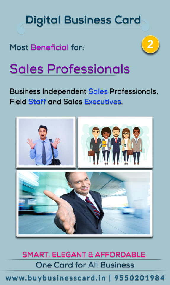 Useful for sales professionals