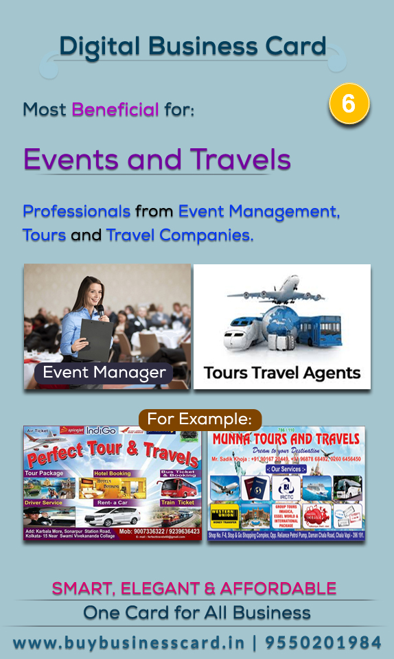 Useful for Events and travels