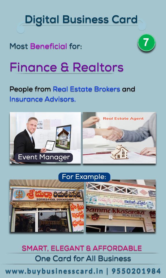 Useful for finance and realtors